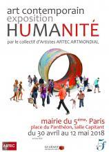 Humanité = unité à la mairie du 5ème Panthéon- Paris-ARTEC