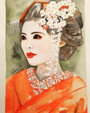 Geisha aux Marguerites - ARTEC