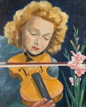 La violoniste  (Hommage à Ginette Neveu) - ARTEC