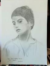 Portrait d'un jeune sicilien ds années 1920. - ARTEC