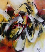 """""""LA FLEUR DE L'ÂGE"""" - Acrylique sur toile - ARTEC"""