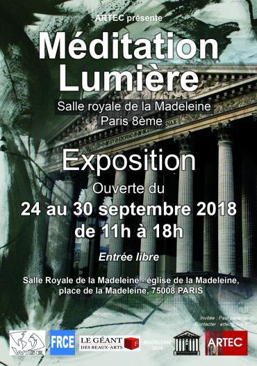 méditation lumière 2018-lun, 24/09/2018 - 11:00-ARTEC