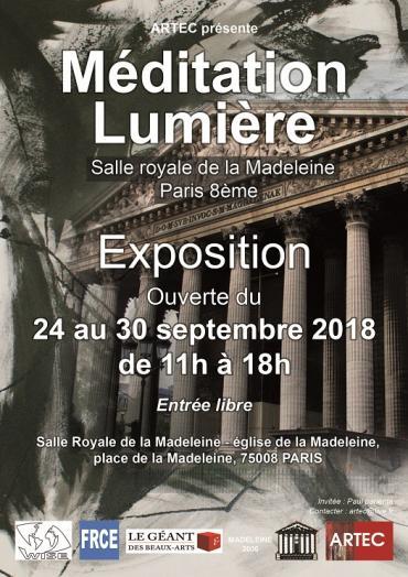 Méditation Lumière 2019-lun, 23/09/2019 - 11:00-ARTEC